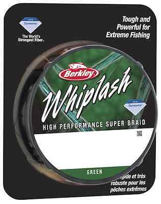 Berkley Whiplash Green Super Braid Up To 300m Spools For Fishing
