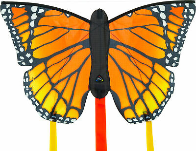 HQ Butterfly Single Line Kite Inc 3M Tails Monarch R Ready 2 Fly Fun Kids Toy