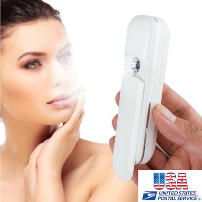 US Sonic Facial Cleansing Brush Skin Spa Care Waterproof Electric Face Scrub A++