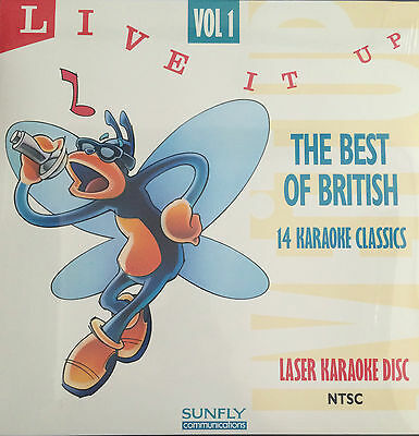 Sunfly Laser  Karaoke Disc The Best of British - 14 Karaoke Classics