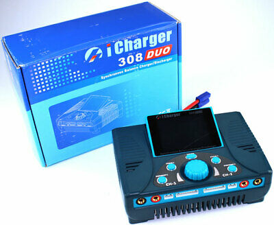 iCharger 308 Duo 1300W 30A 8S Dual Port Lipo Life Battery Charger DC