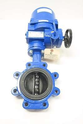 New Abz 009 4 In Electric Flanged Butterfly Valve D537436