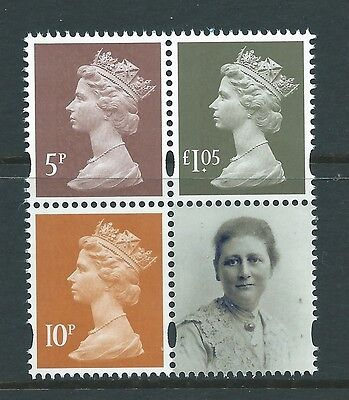 Great Britain 2016 Beatrix Potter New Definitives Unmounted Mint, Mnh