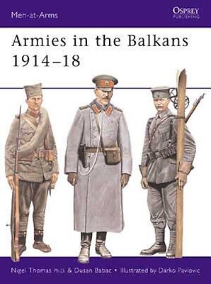 Osprey Men at arms 356: Armies in the Balkans 1914-18 / NEU