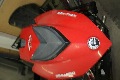2011 SEADOO GTS 130 GTI GTX RXP Red HOOD front STORAGE compartment COVER LID