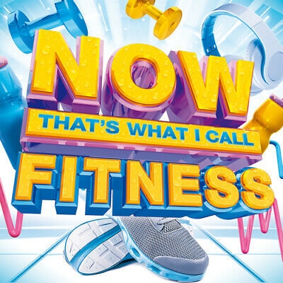 Various Artists : Now That's What I Call Fitness CD 3 discs (2016) Amazing Value