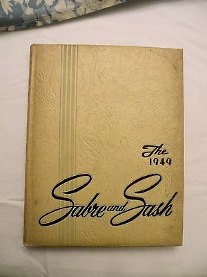 SABRE AND SASH Pennsylvania Military Academy YEARBOOK Chester PA 1949