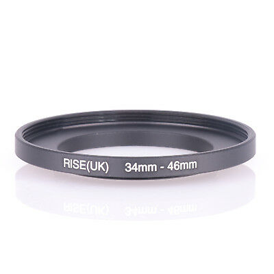 34mm to 46mm 34-46 34-46mm34mm-46mm Stepping Step Up Filter Ring Adapter