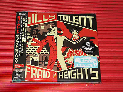 BILLY TALENT AFRAID OF HEIGHTS with Bonus Track  JAPAN DIGI SLEEVE CD