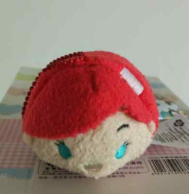 New Disney TSUM TSUM The Little Mermaid Plush Toys Soft Stuffed Dolls With Chain