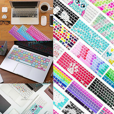 Awesome Silicone Soft US Keyboard Cover Skin for Laptop Macbook Air Pro 13 15 11