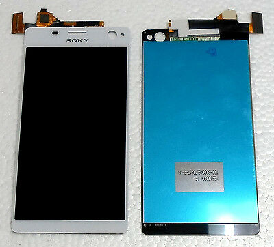 Sony Xperia C4 E5303 Complete Lcd Touch Screen Display Digitizer White