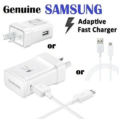 GENUINE SAMSUNG 9V ADAPTIVE FAST Wall Charger FOR S7/S6/S6 Edge+ Note 4/5 15W