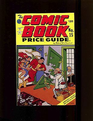 Overstreet Comic Book Price Guide #15 1985 Softcover (SC) VF+ C C Beck Shazam