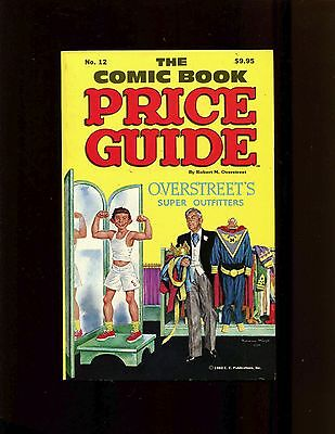 Overstreet Comic Book Price Guide #12 1982 SC (Softcover) VF+ Mingo Mad Cover
