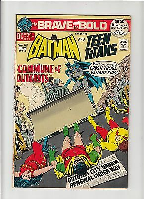 Brave and the Bold #102 Batman Teen Titans Neal Adams cover nm-