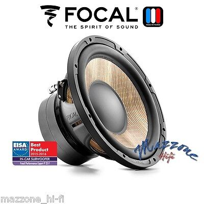 "FOCAL EXPERT P25F FLAX SUB SUBWOOFER 10"" 25cm 600W BRAND NEW > MADE IN FRANCE"