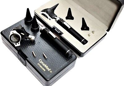 4X LENS Professional Otoscope Set ENT Medical Diagnostic Surgical VETERINARY