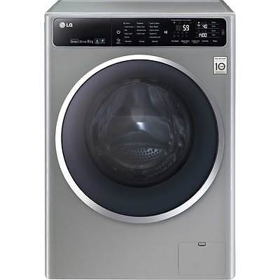 LG F14U1TCN6 A+++ 8Kg 1400 Spin Washing Machine Steel New from AO