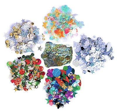 The Craft Factory Mixed Sequins, 20g