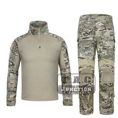 Emerson G3 Combat Shirt & Pants Set Tactical GEN3 BDU Uniform MultiCam Camo
