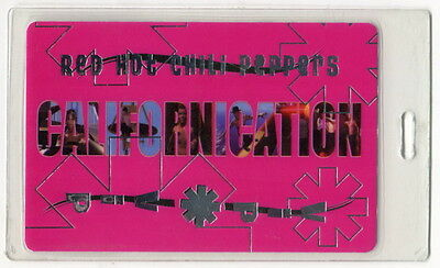"""1999 """"RED HOT CHILI PEPPERS"""" Concert VIP Backstage Pass: """"Californication"""""""