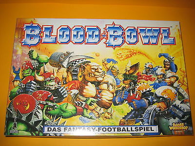 Games Workshop - Blood Bowl - Grundbox 3. Edition - Komplett