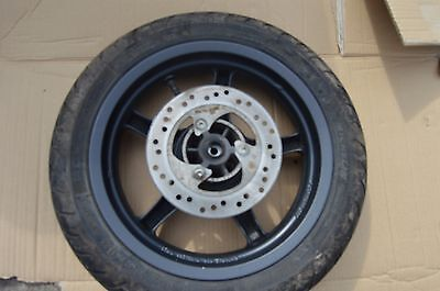yamaha aerox 50 front wheel tyre disc vgc 950 miles 2015,will fit older pls look