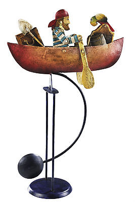 Nautical Rowing Pirate Sky Hook Teeter Totter Metal Balance Toy New