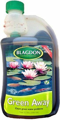 Blagdon green away advance pond care system clears green water problems - 250 ml