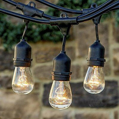 E27 socket connectable strand indoor/outdoor waterproof commercial string light