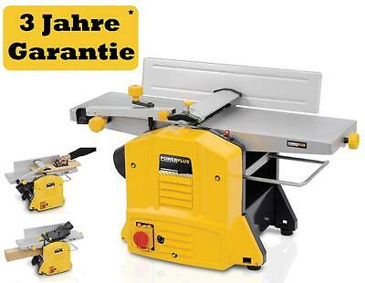Professional Surface Planer Thicknesser electric Joiner's bench planing bench