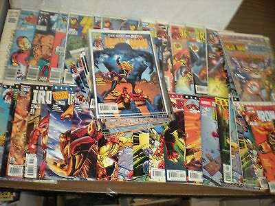 50 Count Iron Man Wholesale Comic Book Lot Run Collection High Grade