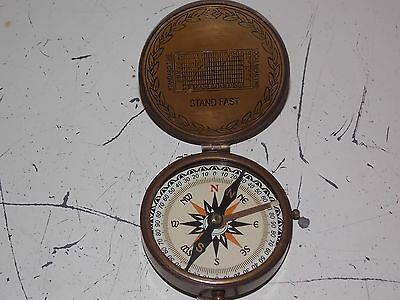 Boy Scouts of America Antique Brass Nautical Pocket Compass