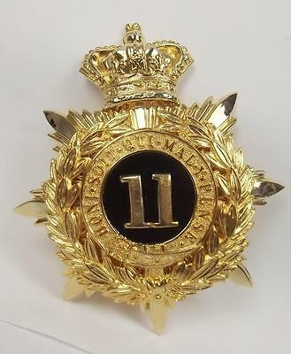 11th Regiment Of Foot Helmet Plate