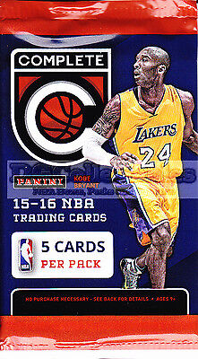 2015-16 Panini Complete Basketball Factory Sealed Pack Unsearched Nba New Aussie