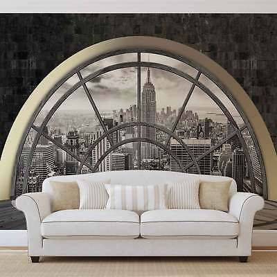 WALL MURAL PHOTO WALLPAPER XXL New York City Skyline Window (2396WS)