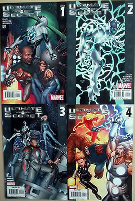 ULTIMATE SECRET 1,2,3,4 (1-4)...NM-...2005...Ultimate Galactus...Bargain!