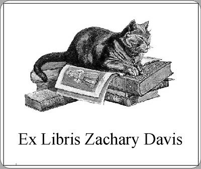 Demons are us! 30 Personalized Ex Libris Bookplates Free First Class Shipping