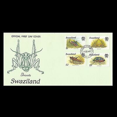 Swaziland 1988 Insects  FDC