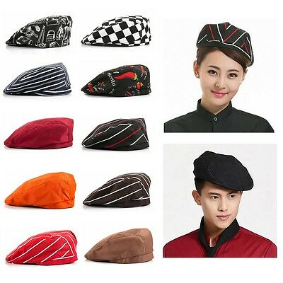 New Beret Professional Chef Hat Catering Various Colourfull Chef Cap Hot Sale