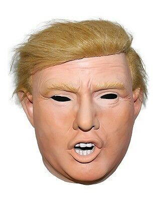 Donald Trump Halloween Mask Billionaire Presidential President Fancy Dress