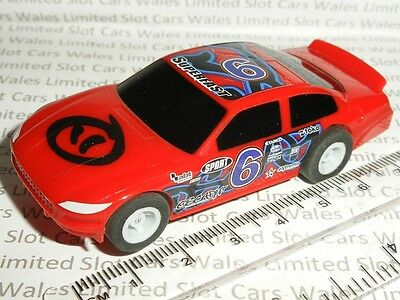 MICRO Scalextric - Stock Car Red #6 - Mint Cdn