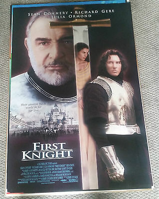 First Knight (1995) Original Movie Poster 27x40 Sean Connery Richard Gere