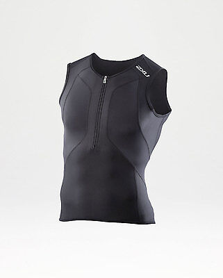 NEW 2XU Compression Tri Singlet Mens Shirts