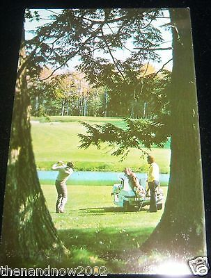 c1950 KUTSHER'S COUNTRY CLUB Golf Course Monticello NY Postcard