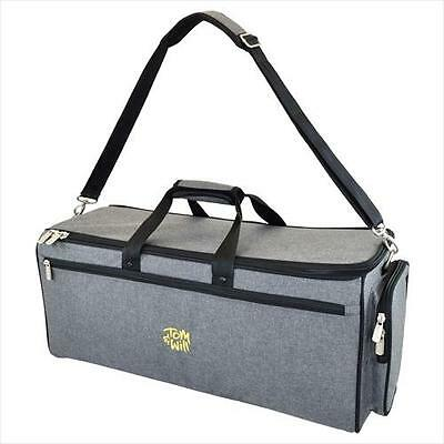 Tom and Will 26DTP-315 GREY Double Combination 2 Trumpet Gig Bag Case **NEW**