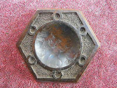 Antique  Carved  Wood  Pin  Tray