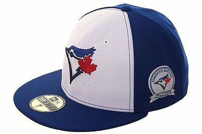 80958b425e6 Official Toronto Blue Jays New Era 40th Season Anniversary 59FIFTY Fitted  Hat