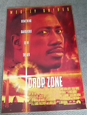 Drop Zone (1994) Original One Sheet Movie Poster 27x40 Wesley Snipes
